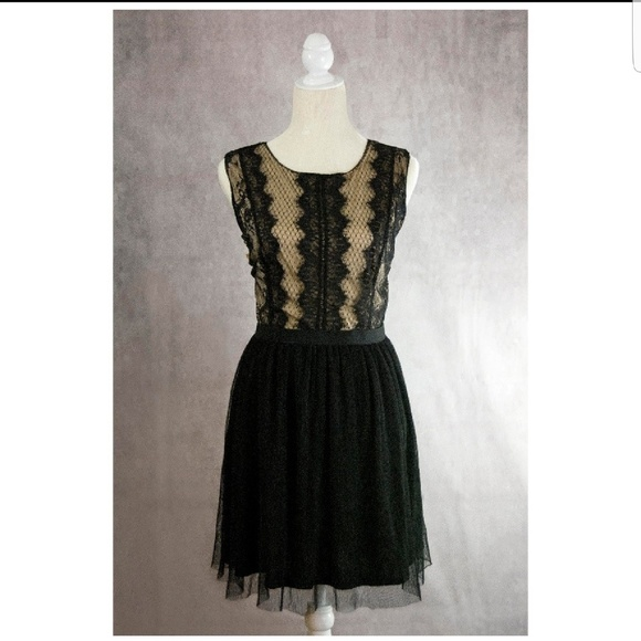 Xhilaration Dresses & Skirts - Lace Black Dress